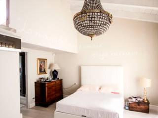 Appartamento Residenziale - Monza - 2013 Camera da letto eclettica di Galleria del Vento Eclettico