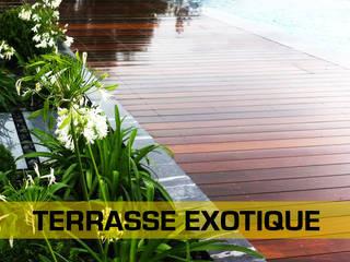 Terrasses bois - Extérieur LA MOULURE BORDELAISE Murs & SolsRevêtements de mur et de sol Bois massif