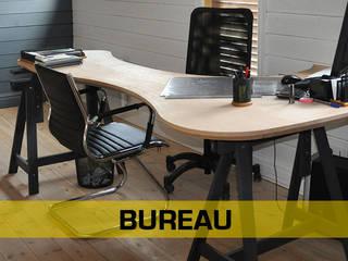 Aménagement intérieur LA MOULURE BORDELAISE BureauBureaux Bois