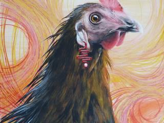 Nettes Huhn:   von Dietrich Art