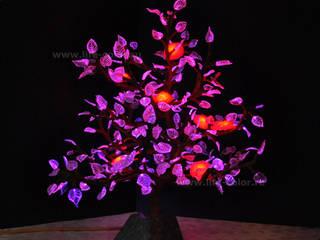 Хрустальное светодиодное дерево:  в . Автор – ЗАО «Жизнь цвета»