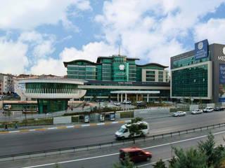 Hospitales de estilo moderno de Ekrem Yigit-Işıkizi Görsel iletişim Moderno