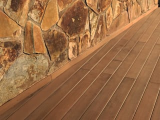 Modern Walls and Floors by Quercus Jardiners Modern