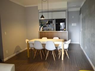 Sala de Jantar: Salas de jantar  por Zappa e Oliveira Arquitetura e Interiores
