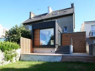 Trace & Associes architecture et architecture d'intérieur Case moderne Legno