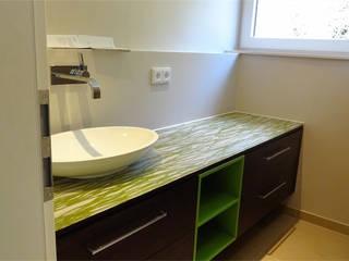 Badezimmer Nowoczesna łazienka od creativ-moebelwerkstaetten.de Nowoczesny