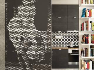 Cocinas modernas: Ideas, imágenes y decoración de 1852M Moderno