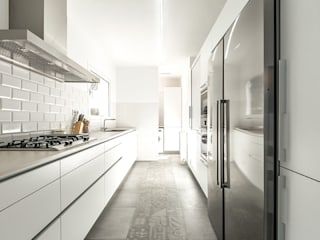 Kitchen by 08023 Architects, Modern