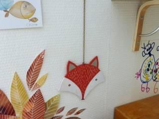 Mobile en Bois ClOük' Chambre d'enfantsAccessoires & décorations Bois Orange