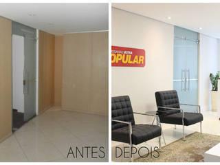 Minimalist office buildings by É! Arquitetura e Design Minimalist