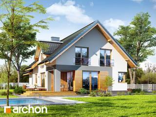 Projekt domu ARCHON+ Dom w srebrzykach od ARCHON+ PROJEKTY DOMÓW
