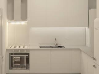 Apartment in Belém Cozinhas escandinavas por Lagom studio Escandinavo