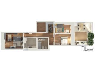 Apartment in Belém por Lagom studio Escandinavo