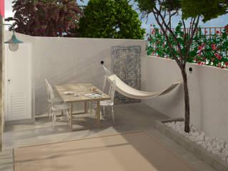 Balcon, Veranda & Terrasse scandinaves par Lagom studio Scandinave Béton