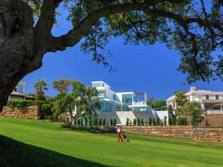 Vườn phong cách tối giản bởi JSH Algarve Arquitectura Lda Tối giản
