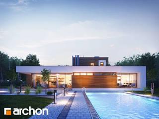 Projekt domu ARCHON+ Dom w borrago (G) od ARCHON+ PROJEKTY DOMÓW
