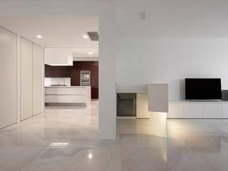 Casa 2x1: Soggiorno in stile in stile Moderno di Massimo Galeotti Architetto