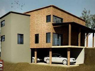Rustic style house by SITTNER / RONCO RAMPULLA ARQUITECTOS Rustic