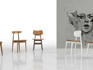 Wood meets Cork:   por Fenabel-The heart of seating