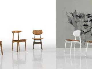 Wood & Portuguese Cork | Cork Chairs:   por Fenabel-The heart of seating,Minimalista