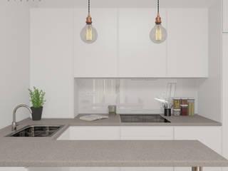 Scandinavian style kitchen by Lagom studio Scandinavian
