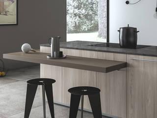 Ambiente Cucina (A) – dettaglio piano snack: Cucina in stile  di Nova Cucina