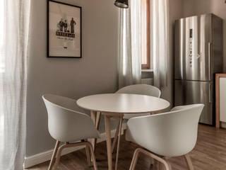 Scandinavian style kitchen by Galleria del Vento Scandinavian