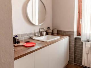 Appartamento Residenziale - Brianza 2014 Bagno in stile scandinavo di Galleria del Vento Scandinavo
