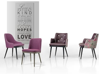 For World Home:   por Fenabel-The heart of seating,Moderno