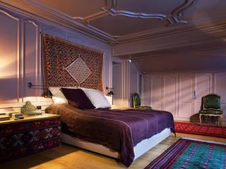 غرفة نوم تنفيذ Peter Kammermann Décorateur, صناعي