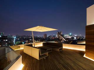 Terrasse de style  par Hansi Arquitectura