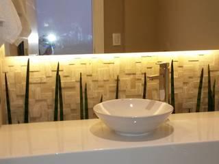 Apartamento Ilha Banheiros modernos por L N arquitetos Moderno