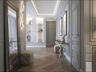 Дом на Трубецкой: Коридор и прихожая в . Автор – Архитектурное Бюро 'Тор-Ард'