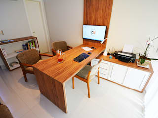 Clinica ZN Escritórios minimalistas por Arquitetura 1 Minimalista
