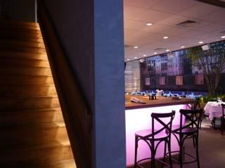 Restaurante Trindade: Espaços gastronômicos  por Toninho Noronha Arquitetura