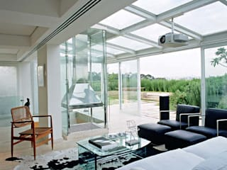 Balcon, Veranda & Terrasse modernes par Toninho Noronha Arquitetura Moderne