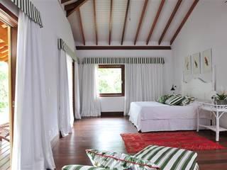 Dormitorios rústicos de Toninho Noronha Arquitetura Rústico