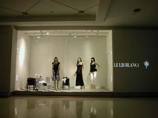 Loja Le Lis Blanc : Lojas e imóveis comerciais  por Toninho Noronha Arquitetura