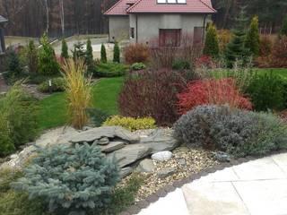 Ogród Naturalistyczny: styl , w kategorii Ogród zaprojektowany przez BioArt Ogrody, Architektura Krajobrazu,