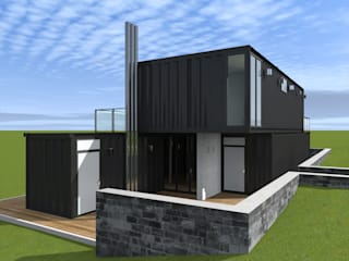 CHM architect Casas de estilo industrial