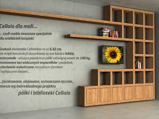 Cellaio - półki na książki od Cellaio Nowoczesny