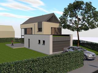Maison passive à Sombreffe par Bureau d'Architectes Desmedt Purnelle