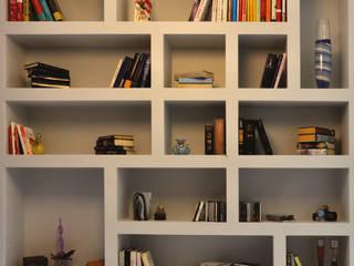 Ristrutturazione SG arCMdesign - Architetto Michela Colaone Soggiorno moderno