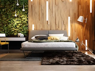 Kamar Tidur Modern Oleh Solo Design Studio Modern
