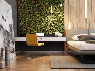 Cuartos de estilo  por Solo Design Studio, Moderno