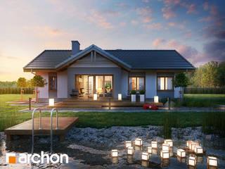 Projekt domu ARCHON+ Dom w nerinach od ARCHON+ PROJEKTY DOMÓW