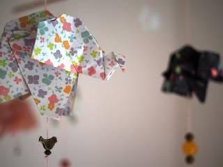 Mobile origami éléphants:  de style  par MiZenpli