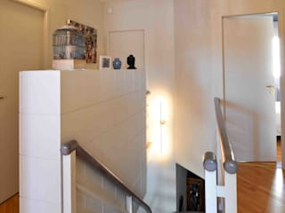 Modern Corridor, Hallway and Staircase by Marie.A Design Modern