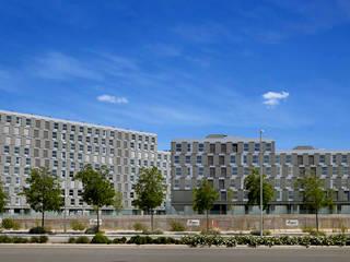 Residencial VALDEDEBAS. Madrid Casas de estilo moderno de CIPRÉS S.L Moderno