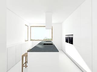 PURE Minimalistyczna kuchnia od PROSTO architekci Minimalistyczny